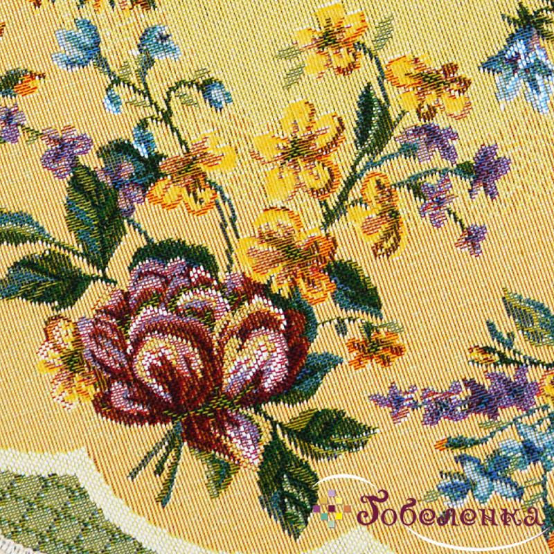 Декоративный цветок салфетка