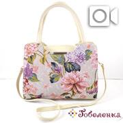 5eac60a941fd Купить женские сумки текстильные из гобелена, большой выбор в ...